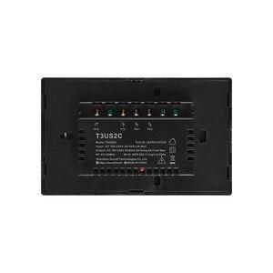 Image 5 - Sonoff T0 T2 T3 Hoa Kỳ Công Tắc Thông Minh WiFi Cảm Ứng Treo Tường Không Dây Thông Minh Hẹn Giờ Đèn Qua Ewelink Ứng Dụng Hoạt Động Với alexa Google Home