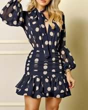 Женские элегантные модные мини платья Сетчатое платье с принтом