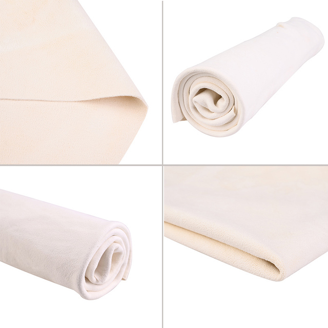 Car Towel Natural Chamois Leather Car Cleaning Cloth Genuine Leather Wash Suede Absorbent Quick Dry Towel Streak Free Lint 3