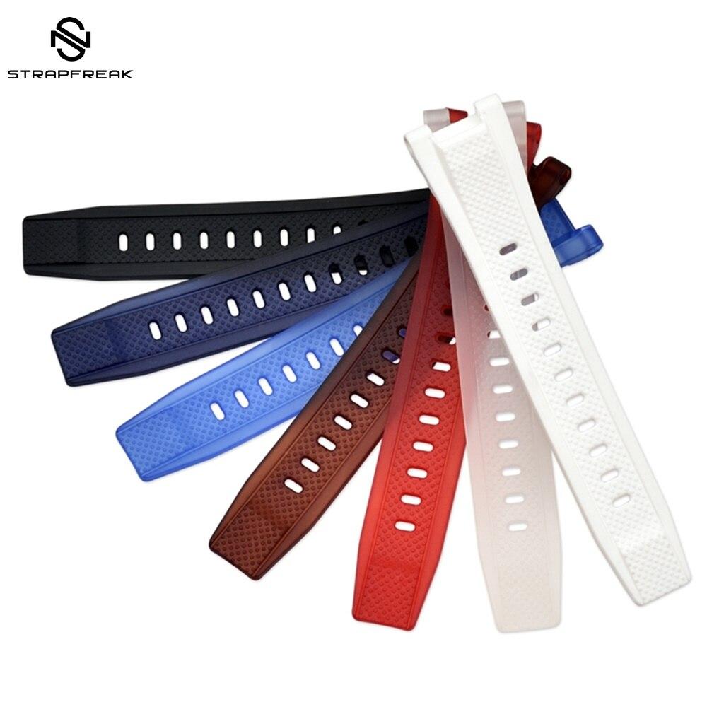 Rubber Strap For Casio G-Shock GST Series GST-W300 GST-S110/ S100G GST-W110/ W100G Sport Replacement Watchband Accessories