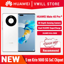 Huawei Mate 40 Pro + 5G Mobilephone 6.76 Inch 90Hz Oled Kirin 9000 Octa Core 5nm Ambachten Emui 11 Reverse Lading Wifi 6 + Nfc