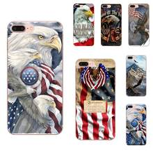 American Pride Military 2 TPU Printing For Galaxy Alpha Note 10 Pro A10 A20 A20E A30 A40 A50 A60 A70 A80 A90 M10 M20 M30 M40(China)