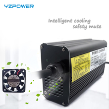 цена на 42V 8A Electric Bike Lithium Battery Charger For 10S 36V 8A Li-ion Battery Charger