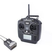 Radiomaster tx12 2.4g 16ch opentx compatível digital proporcional rc rádio mini transmissor cc2500 multi-protocolo S-FHSS d8 d16