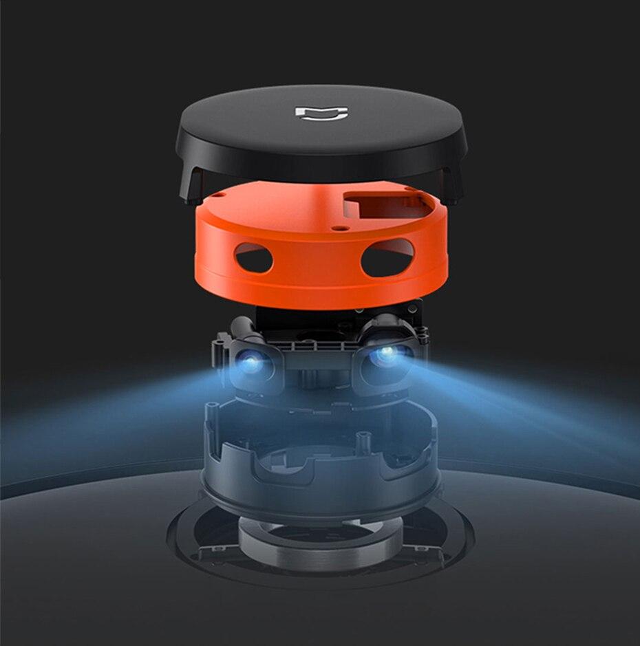 Hb87b5adddbf64241948de5f126a7f68eS Present Gift Xiaomi Mijia STYJ02YM V2 pro mi robot Vacuum Cleaner 2 mop-p sweep mop suction 2 in 1 wifi EU Russia warehouse
