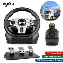 Игровая педаль рулевого колеса pxn v9 pro геймпад гонки механическая