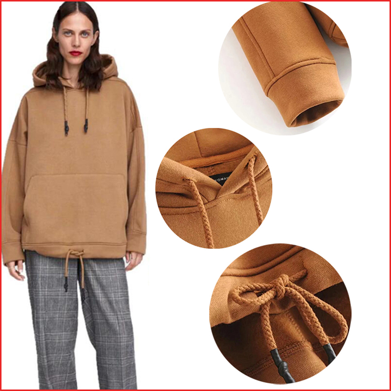 Semfri Hoodies Sweatshirts Women Winter Harajuku Hoodies Long Sleeve Oversized Sweatshirt Plus Size Tops Coat Dropshipping