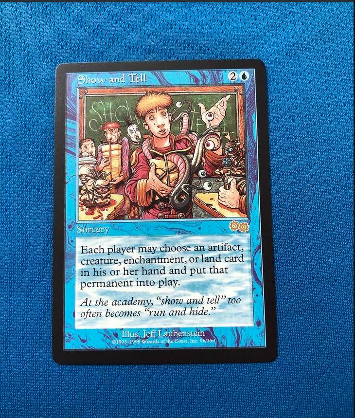 Show And TellUrza's Saga Magician ProxyKing 8.0 VIP The Proxy Cards To Gathering Every Single Mg Card.