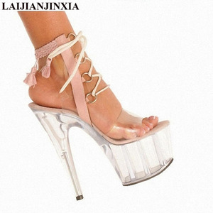 New size 34-46 Night club dance shoes, high-heeled shoes, 15cm high heels and sandals, Dance Shoes