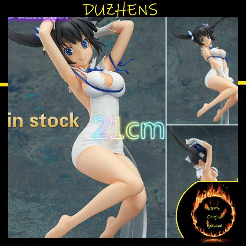 Dungeon ni Deai wo Motomeru no wa Machigatteiru Darou ka Hestia 21 см фигура аниме модель игрушки коллекционная кукла подарок