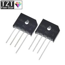 Diode Bridge Electronica Retifica DIP 1000V 15A KBU1510 Componentes 5pcs/Lot Ponte