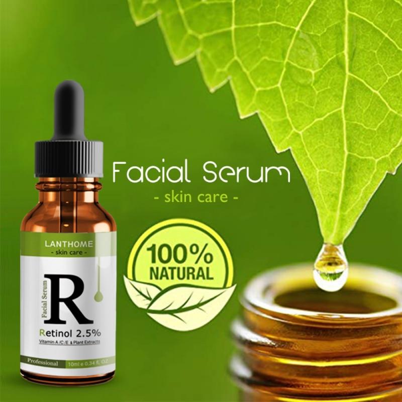 New Nourish Face Serum Skin Care Whitening Hyaluronic Acid Face Essence Green Tea Vitamin E Whitening Skin Cream