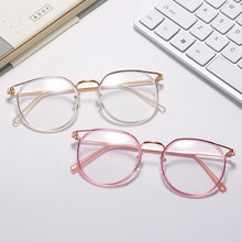 -0.5 -1.0 -1.5 -2.5-6.0 para-redonda terminou miopia óculos mulheres olho de gato óculos de estudante míope com diopters