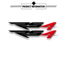 New motorcycle bicycle fuel tank wheel fairing notebook luggage helmet stickers LOGO applique for Aprilia RS4  RS 4  rs4
