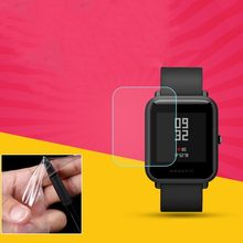 Soft TPU HD Clear Protective Film Guard For Xiaomi Huami Amazfit Bip BIT PACE Lite Smart Watch Full Screen Protector Cover(China)