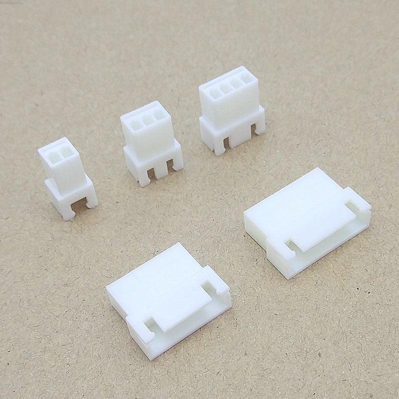 20Pcs XH2.54 TJC3 Female Connector Housing 2.54mm Pitch 2P 3P 4P 5P 6P 7P 8P XH Plug Plastic Shell