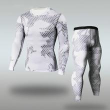 Мужские Спортивные Компрессионные колготки для бега, спортивные костюмы, одежда для кроссфита, спортивный костюм, леггинсы для фитнеса, комплекты спортивной одежды