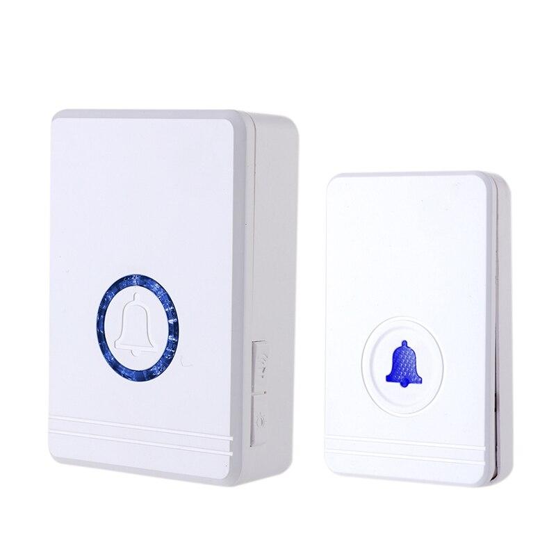 Wireless Doorbell Home Security Alarm Welcome Smart Doorbell 48 Music Multi Purpose Door Button 433MHz Easy Installation (US Plu|Doorbells| |  - title=