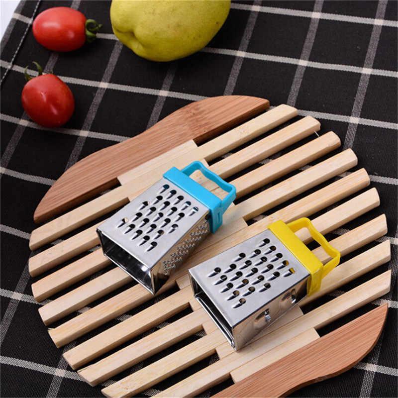 Wielofunkcyjny ręczny ser czosnek imbir tarka Mini 4-korzystając z łączy z boku warzyw marchew ziemniaków krajalnica gadżety kuchenne