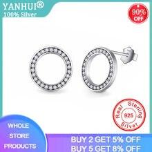 2020 Высокое качество модные 925 стерлингового серебра серьги