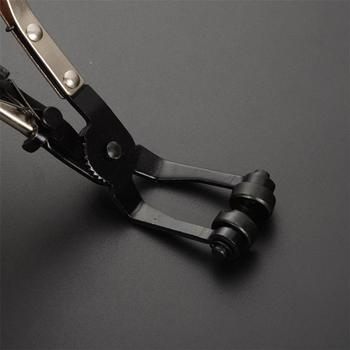 Zacisk rury samochodowej długi zacisk do węża samochodowego szczypce prosto gwintowana tulejka pakiet zacisk narzędzie do usuwania prosto gładki uchwyt szczypce tanie i dobre opinie BoFaCarry CN (pochodzenie) Hand Tool Bike Motorcycle Straight Smooth Handle Plier Straight Plastic Coated Plier Bend Plier