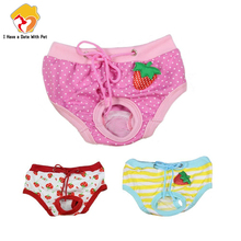 Dog Panties Breeches Puppy Physiological Menstruation Hygiene Female Blue Cat Pink Red