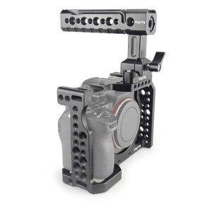 "Image 5 - MAGICRIG DSLR מצלמה כלוב עם נאט""ו ידית כדור ראש עבור Sony A7II /A7III /A7SII /A7M3/a7RII/A7RIII מצלמה ערכת הרחבה"
