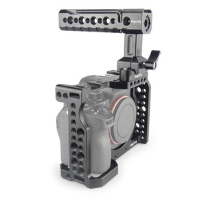 Image 5 - Magicrigdslr هيكل قفصي الشكل للكاميرا مع مقبض الناتو ورأس الكرة لسوني A7II /A7III /A7SII /A7M3 /A7RII /A7RIII طقم وصلة الرموش للكاميرا