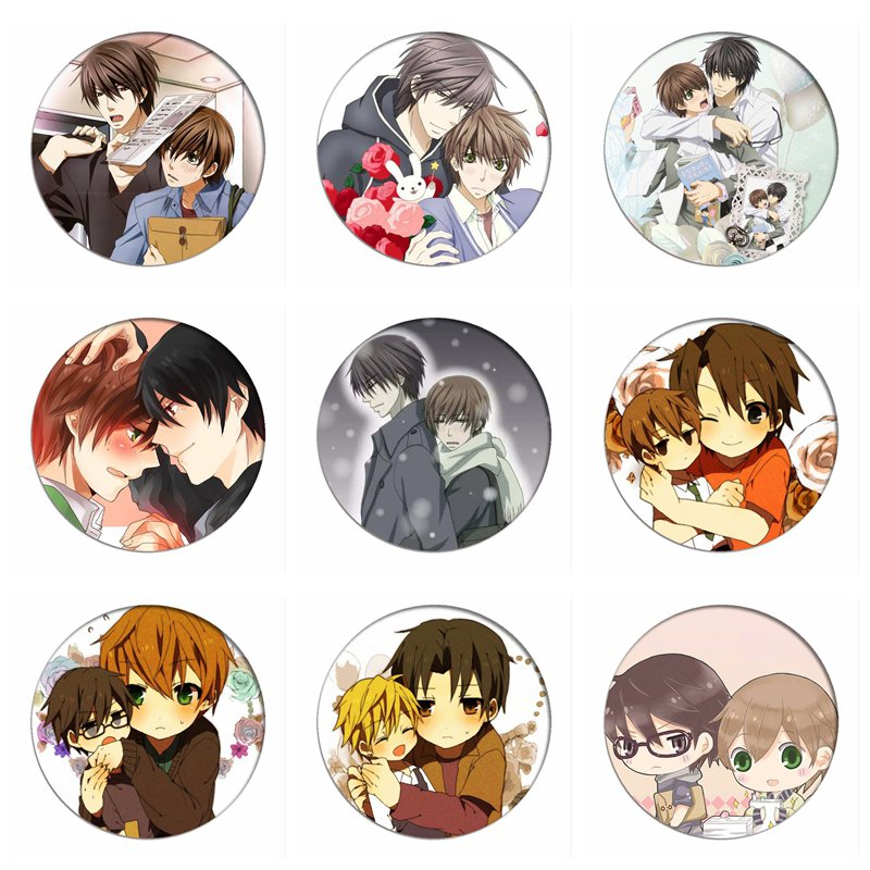 Sekai ichi Hatsukoi Takano Masamune x Onodera Ritsu BL Keychain Acrylie Anime