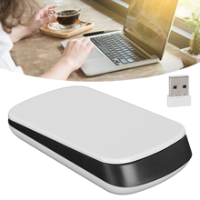 Touch Pad Switch Wireless Computer Mouse 1200 DPI USB Optical 2.4G Receiver Super Slim Mouse For PC Laptop