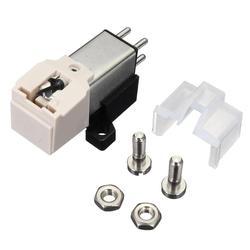 Leory 1 pçs caneta cartucho magnético com lp vinil agulha acessórios para fonógrafo turntable gramofone registro stylus agulha