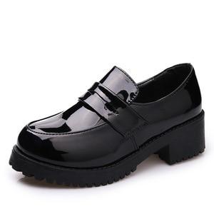Image 5 - Японская Студенческая обувь, Молодежные туфли JK, униформа, обувь из искусственной кожи, обувь для косплея