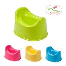 4 Color Plastic Portable Baby Potty Training Seat Child Pot For Children Baby Toilet Pots WC Chair Kids
