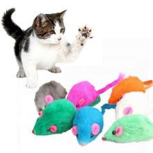 1/3pcs Cat Toys False Mouse Toys Interactive Mini Mice Funny Plush Animal Playing Toys