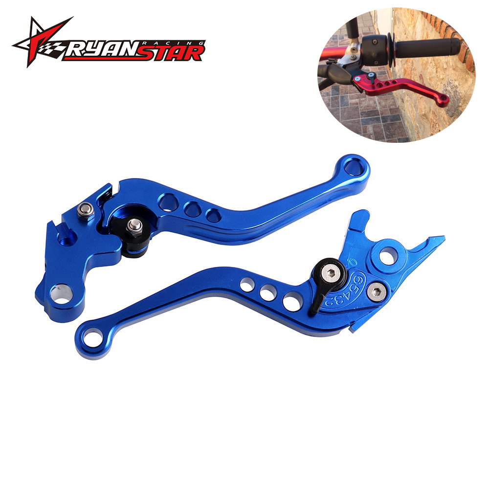 Cross Border Hot Sales Motorcycle Refit Accessories Brake Cluth Honda Grom Six-Speed CNC Handle Ox Horn Handbrake