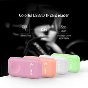 ORICO Universal High Speed USB 3.0 Micro SD Card Reader Mobile Phone Tablet PC USB 3.0 5Gbps for Micro TF Flash Memory Card