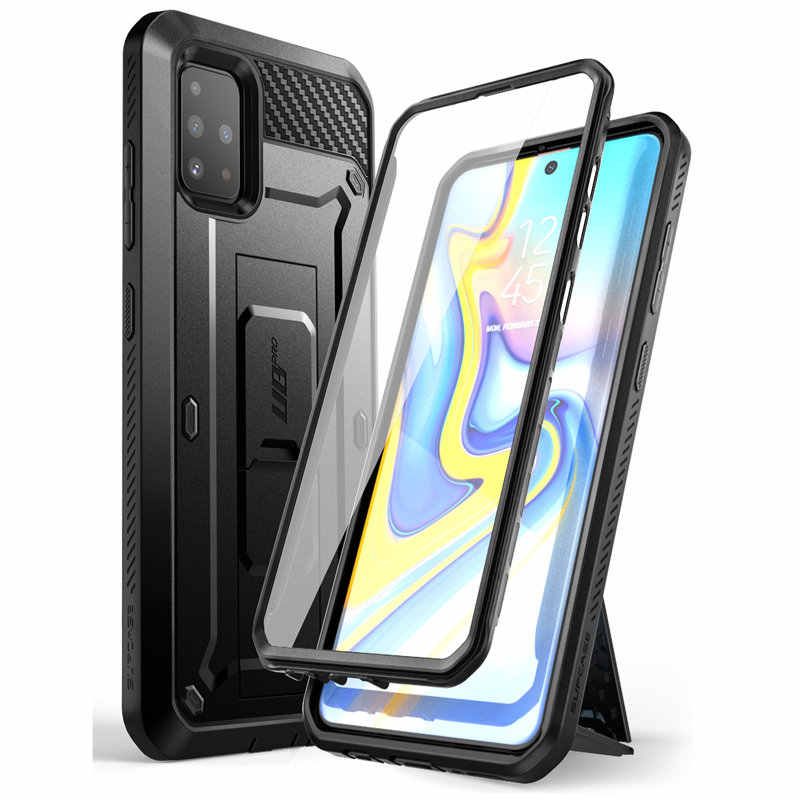 SUPCASE For Samsung Galaxy A51 Case (Not Fit A50 & A51 5G) UB Pro Full-Body Rugged Holster Case with Built-in Screen Protector