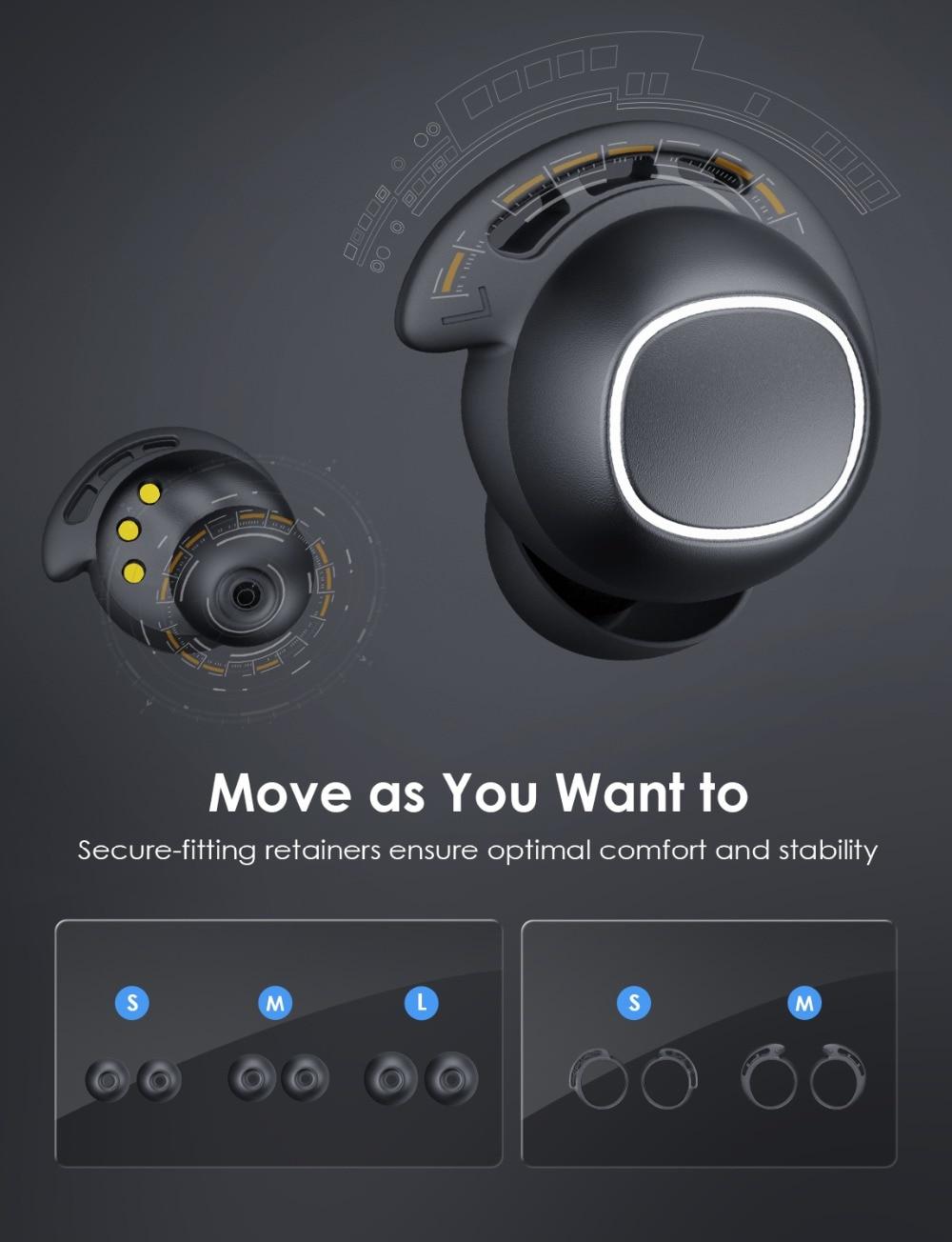 Mpow M30 Wireless Earphones TWS Bluetooth 5.0 Earphone Touch Control Earbuds With IPX7 Waterproof For iPhone Xiaomi Mi 10 Pro (3)