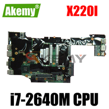 Thinkpad is suitableFRUPlni7-2640MNVwAMT wTPM for X220I-TABLET motherboard.04W0668 04W3380 04W0669 04W3381
