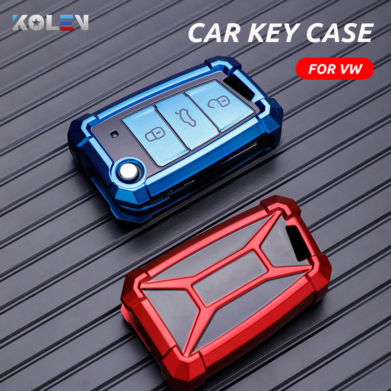 Soft TPU Car Key Case Cover Holder For Volkswagen VW Golf 7 MK7 Tiguan MK2 For Skoda Octavia A7 Seat Ibiza Leon FR 2 Aztec Altea