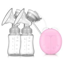 PP Silicone Electric Breast Pump Milk Pump Baby Bottle Postnatal Supplies Electric Milk Extractor Breast Pumps Low Power 150ml недорого