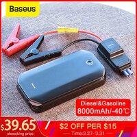 Baseus Car Jump Starter Starting Device Battery Power Bank 800A Jumpstarter Auto Buster Emergency Booster Car Charger Jump Start|Jump Starter| |  -