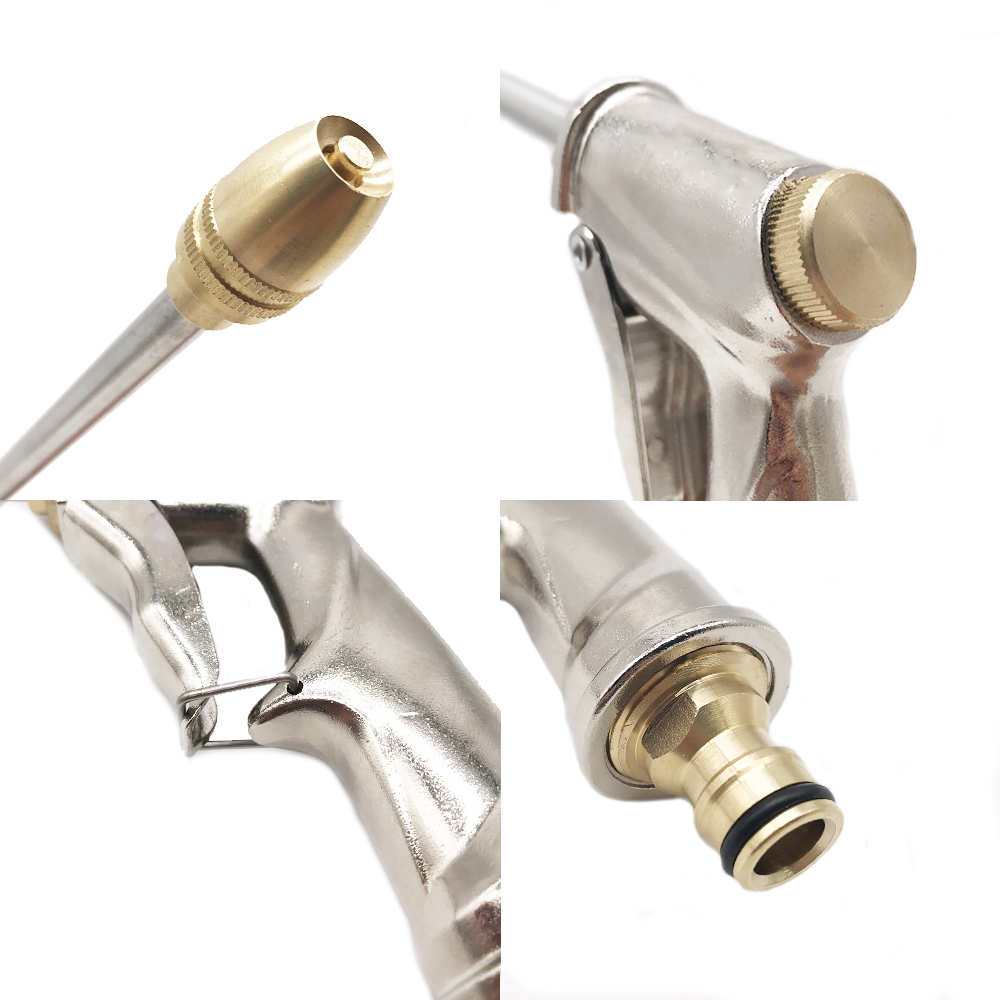 Hb87fe99d2d6a49e7b480a96df0da1f7e0 Water Gun Garden Hose Nozzle Water Spray Adjustable High Pressure Power Washer For Plant Flower Household Cleaning Car Washer