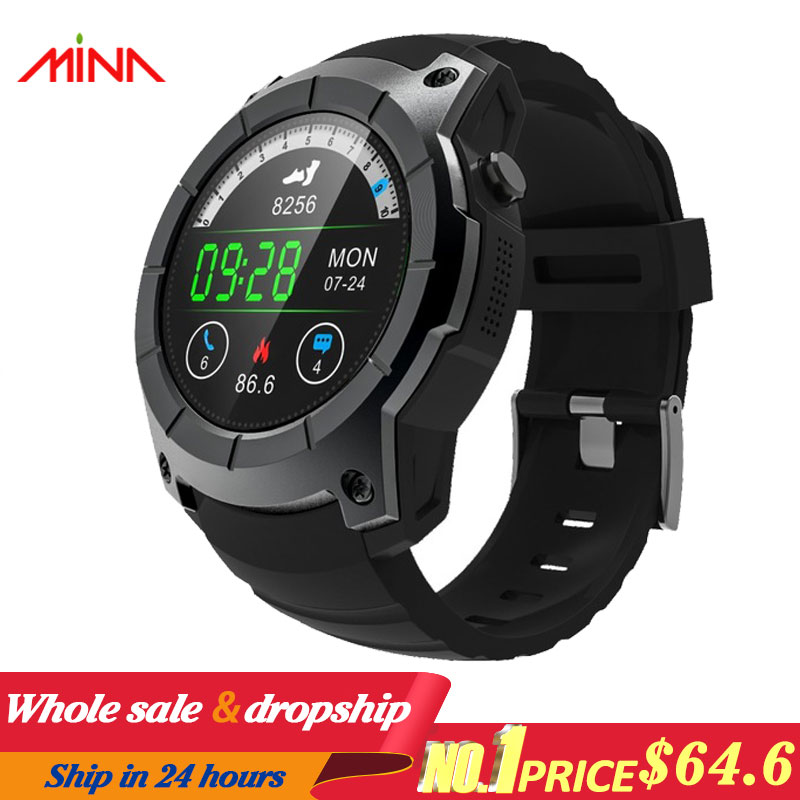 GPS SIM card GSM Sports Watch S958 MTK2503 Heart rate monitor Smartwatch multi sport model smart watch for Android IOS-in Smart Watches from Consumer Electronics    1