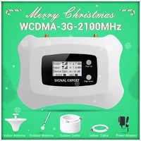 Amplificateur cellulaire chaud 3G WCDMA 2100MHz 3G kit de répéteur de Signal Mobile 3G pour MTS Beeline Vodafone ue Assia Africa RU