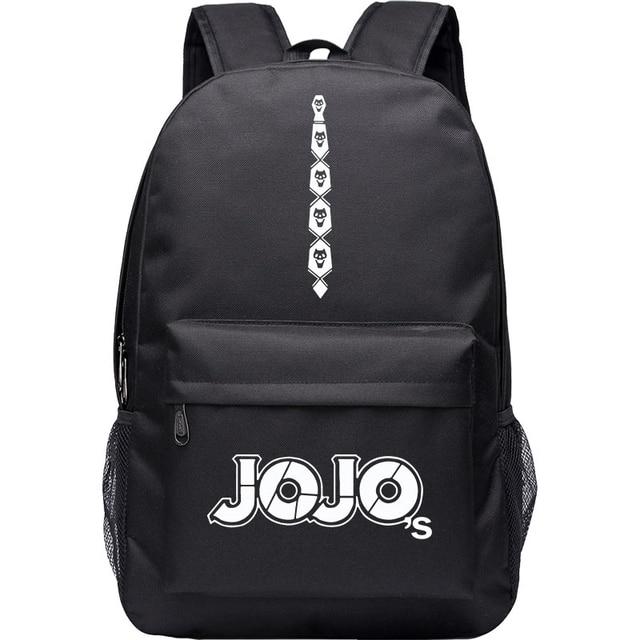 JoJo's Bizarre Adventure Giorno Giovanna  Bruno Bucciarati Cosplay Anime Accessory Backpack School Bag Oxford Cloth Adult Men Ms 3