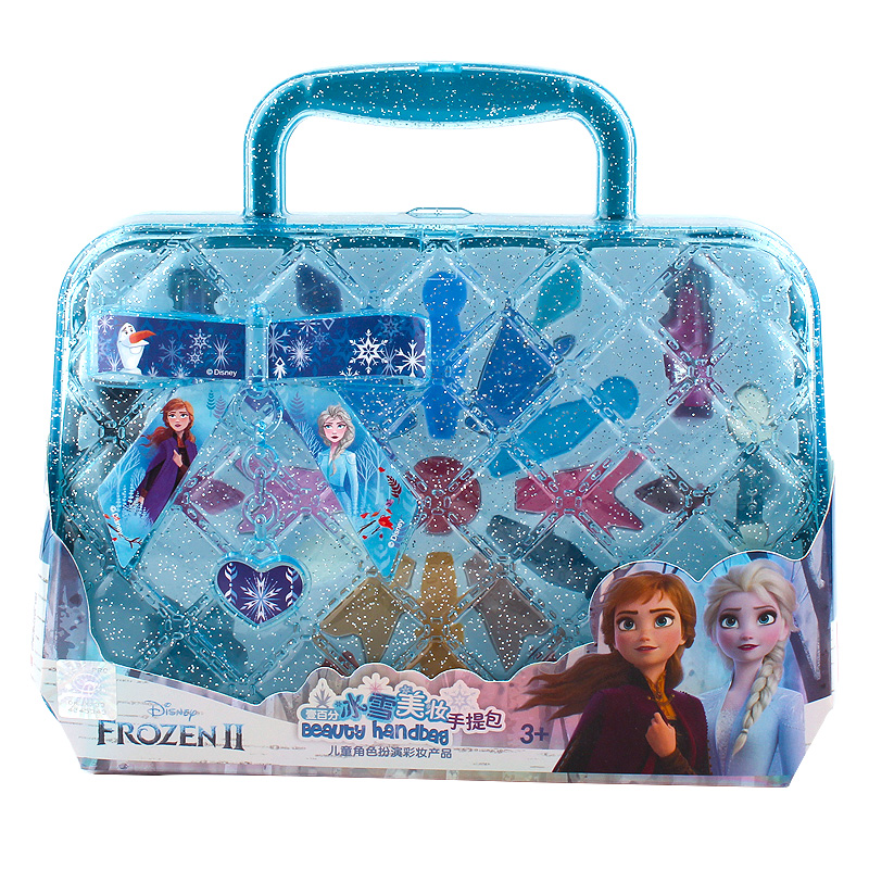 Girls  Frozen 2 Elsa And Anna Princess Handbag Makeup Set Disney Kids  Beauty Pretend Play Toy Gift Box