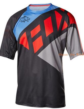 2020 New Cycling Jersey Maillot Fox Mtb Downhill Shirt Short Sleeve Outdoor Ciclismo Quick Dry Clothes For Men Bike Clothing