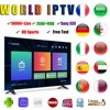 IPTV code M3U subscription supports Android box smart TV Mag box IPTV code in Europe Germany UK Canada USA Spain Germany Dutch 1