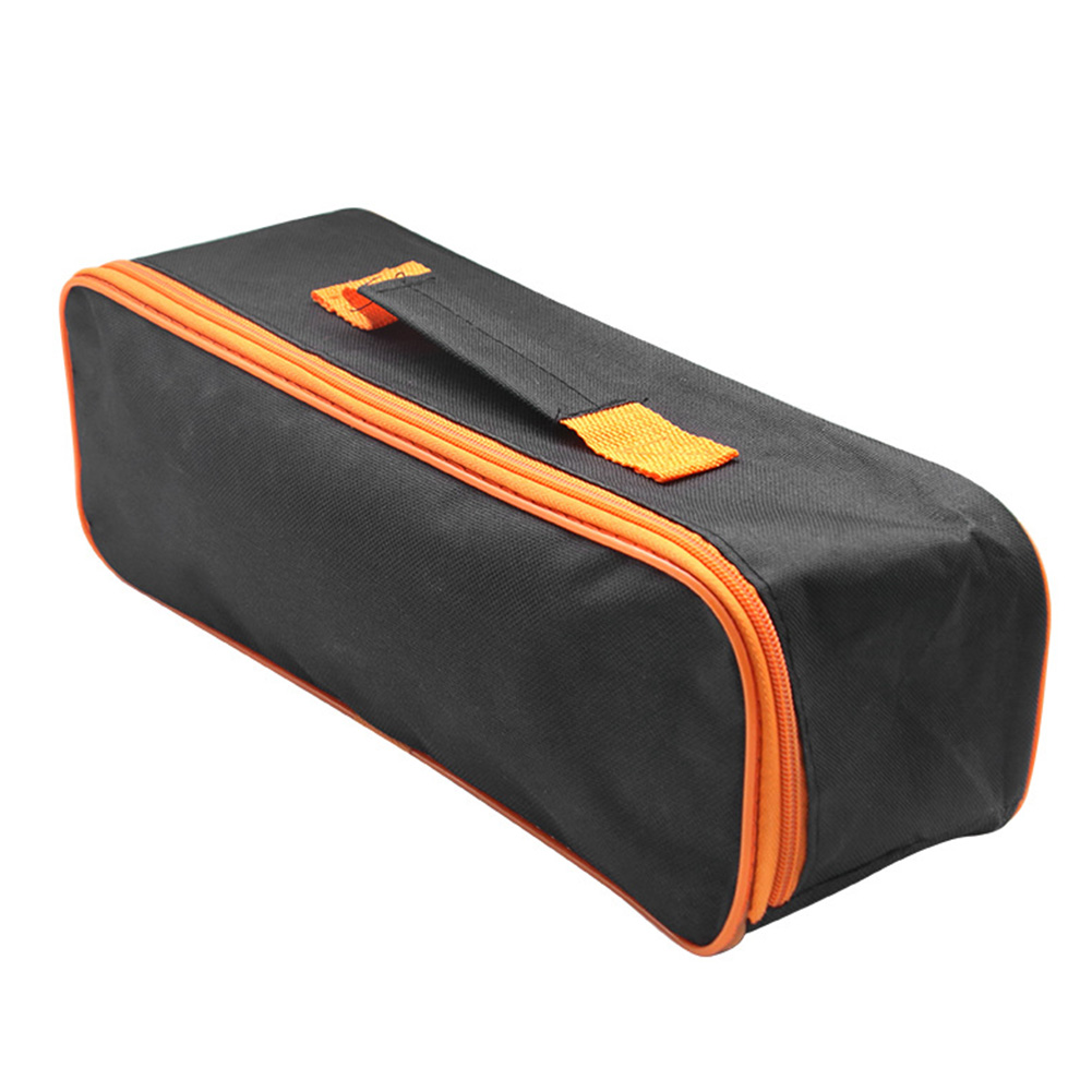 Multifunctional Practical Carring Zipper Closure Storage Case Vacuum Cleaner Tool Bag Accessory Durable Portable Pouch Car Black